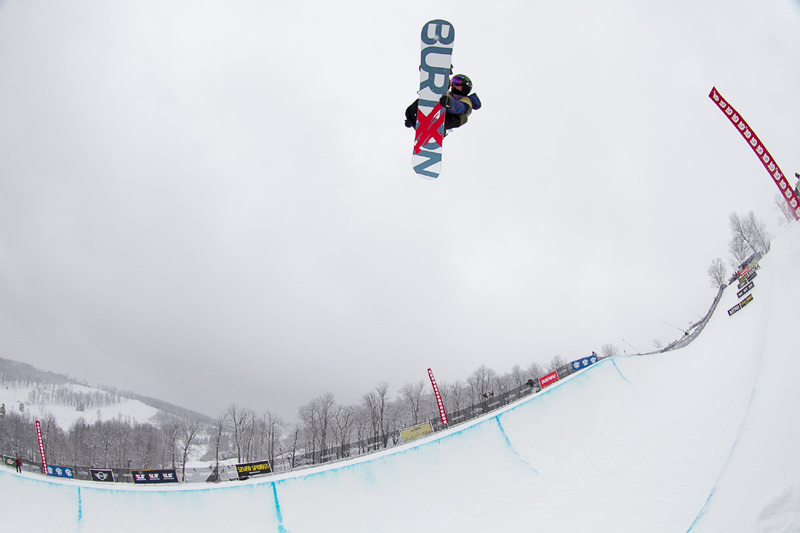 02-03-13 Taylor Gold at Burton US Open Qualifiers at Seven Springs photo by Jeff Patterson