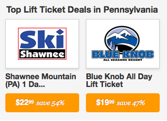 top pa lift ticket deals
