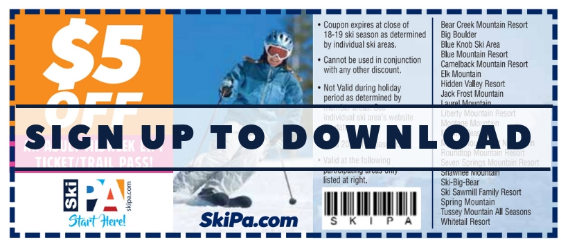 Ski Coupon Sign up