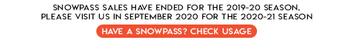 snowpass ended 2020 status