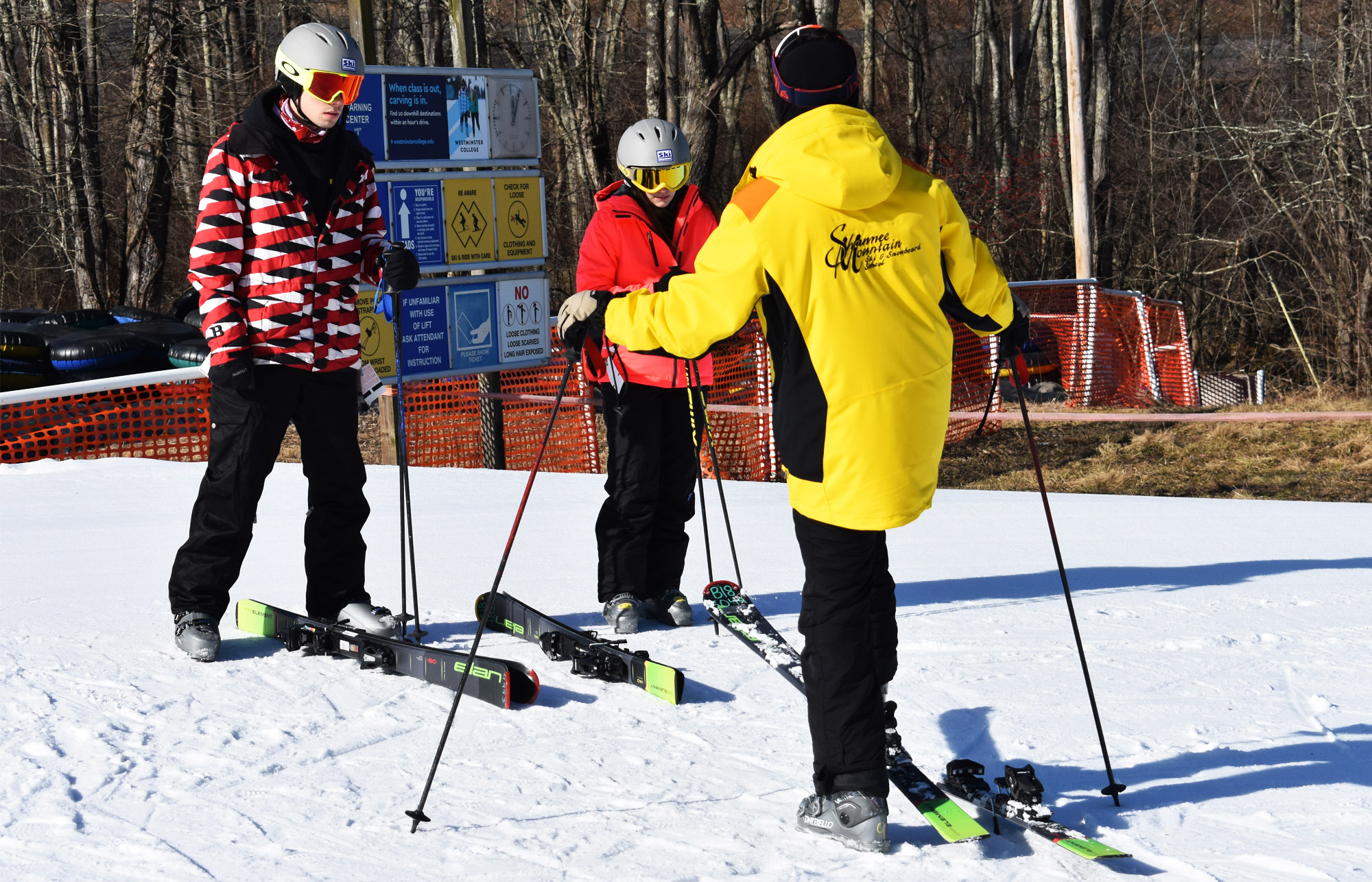 Beginner Ski Lesson at Shawnee Mountain
