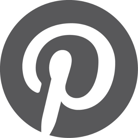 Pinterest Favicon bw