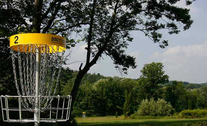 blue mountain disc golf