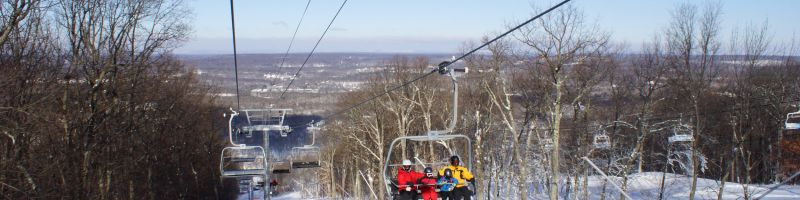 Family time on the slopes is fun and easy at Shawnee Mountain Ski Area