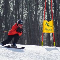 The NASTAR Race Series is held on the Tomahawk Race Trail   Shawnee Mountain Ski Area