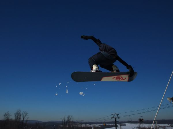 Snowboarder In Air 8