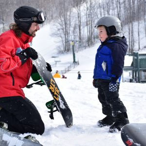 Little Rippers Snowboard Lesson at Hidden Valley