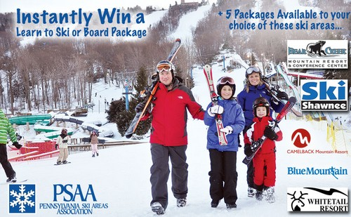 Psaa learn to ski month