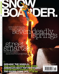 Seven Springs Snowboarder Magazine